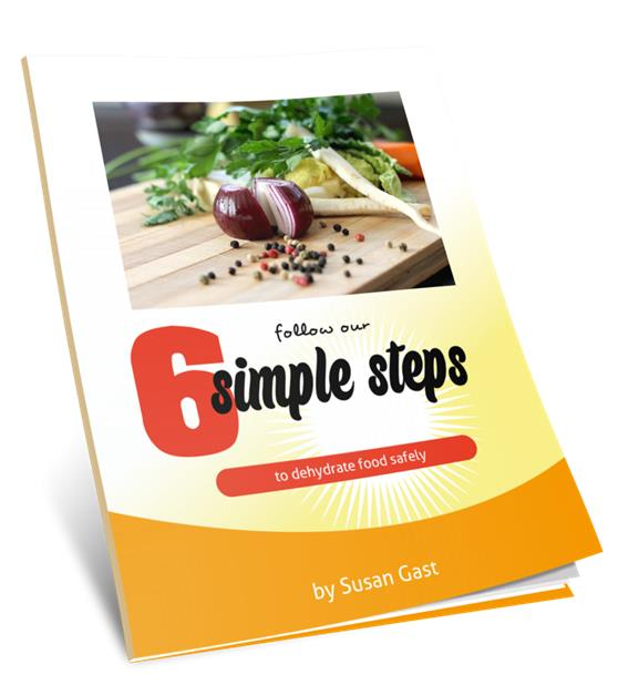 Six Simple Steps free eBook from Easy Food Dehydrating