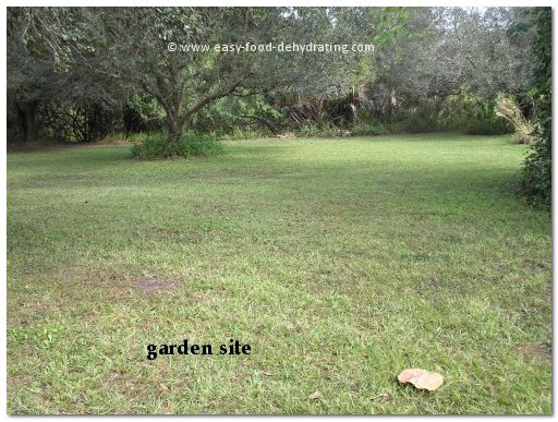 Siting your Garden