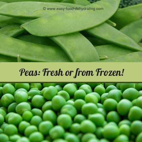 Peas fresh, and shelled