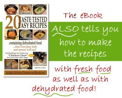 20 Taste-Tested Easy Recipes Containing Dehydrated Food