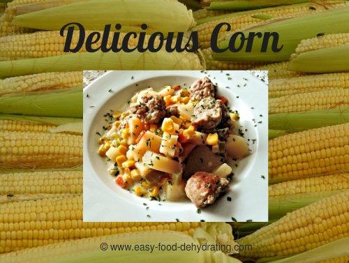 Delicious Corn and Corn Chowder