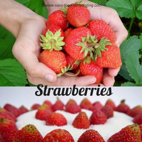 Strawberries and dessert