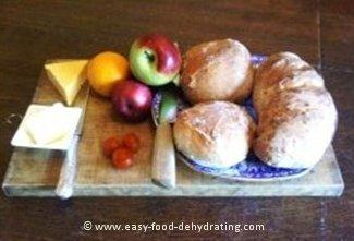 Anita's bread ready to eat