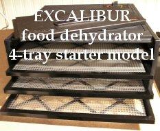 Excalibur Dehydrator - 4 tray starter model