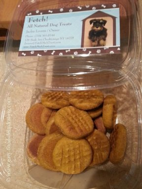 Organic Pumpkin Cookies by Fetch!