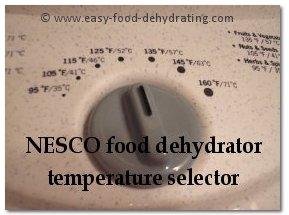 NESCO temperature selector