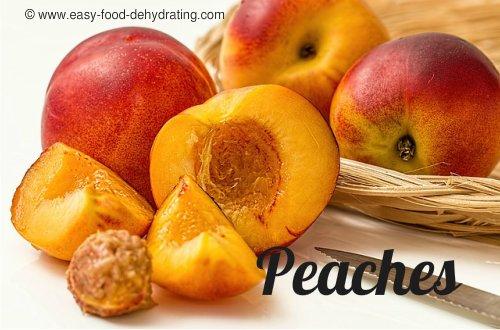 peaches in a pile