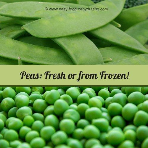 Peas fresh, and shelled