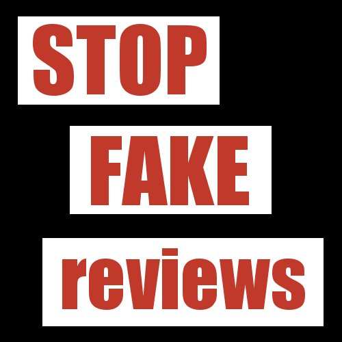 Stop Fake Reviews