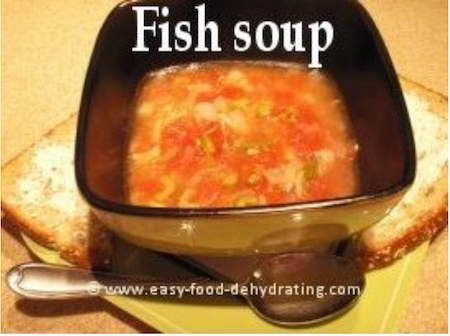 Tuna Fish soup