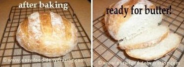 Anitas Bread after 25 minutes in the oven