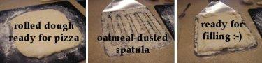 Dough on Spatula