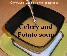 Celery and Potato Soup