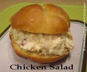 Chicken Salad on a freshly baked bun