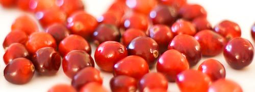 loose cranberries