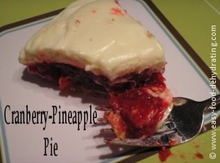 Cranberry Pineapple Pie