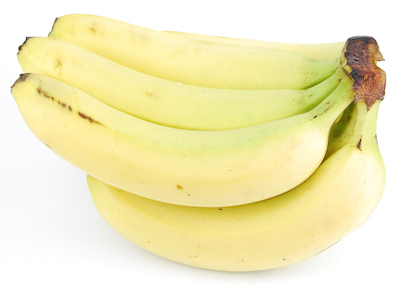 bunch of fresh bananas