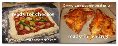 pizza ready for cheese and then baked