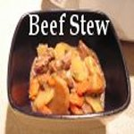 Beef Stew in a bowl