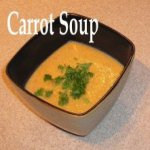 Carrot Soup in a bowl