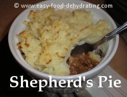 Shepherd's Pie by Easy Food Dehydrating
