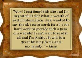 Thanks Elese!