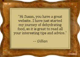 Thanks Gillian! - EFD