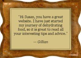 Thanks Gillian! - EFD