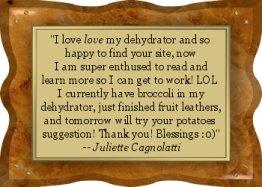 Thanks Juliette! - EFD