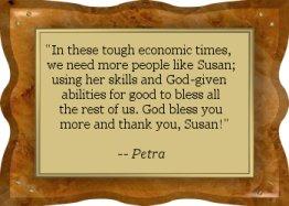 Thanks Petra! - EFD