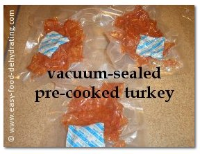 Pre-cooked and sliced Turkey