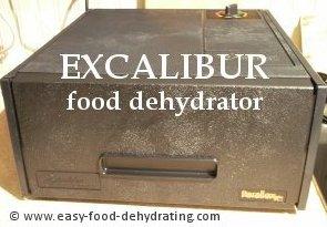 EXCALIBUR food dehydrator