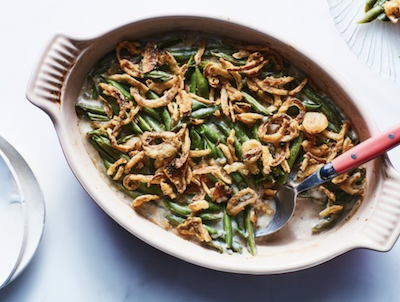 Green Bean Casserole photo and recipe from Epicurious