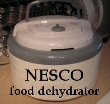Nesco food dehydrator