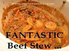 Beef Stew done in crockpot