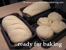 Beginner Bread recipe ready for baking