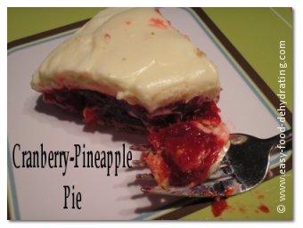 Cranberry-Pineapple Pie