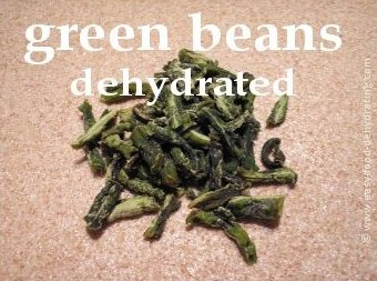 dehydrated green beans