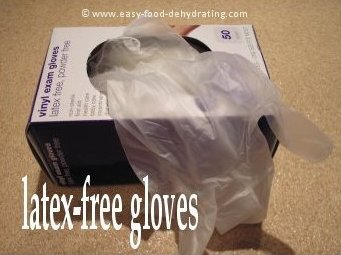 Latex-free gloves