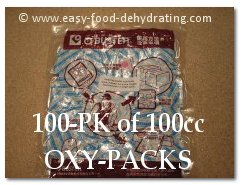 100 pk of 100cc Oxy Packs