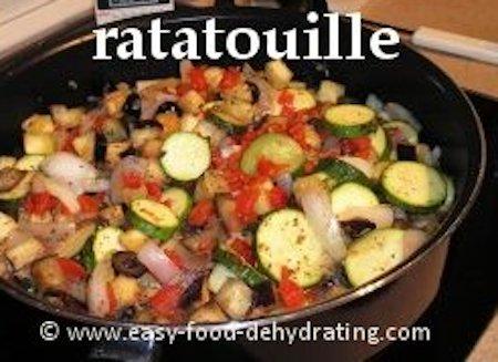 Ratatouille - Zucchini, Eggplant, Garlic, Onions, Mushrooms ...