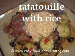 Ratatouille with Rice