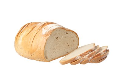 sliced loaf of white bread