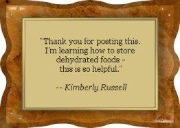 Thanks Kimberly! - EFD
