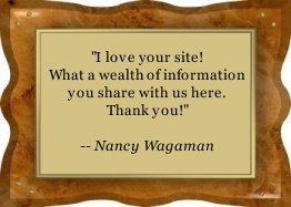Thanks Nancy!