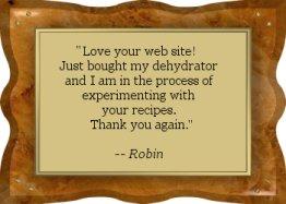Thanks Robin! - EFD